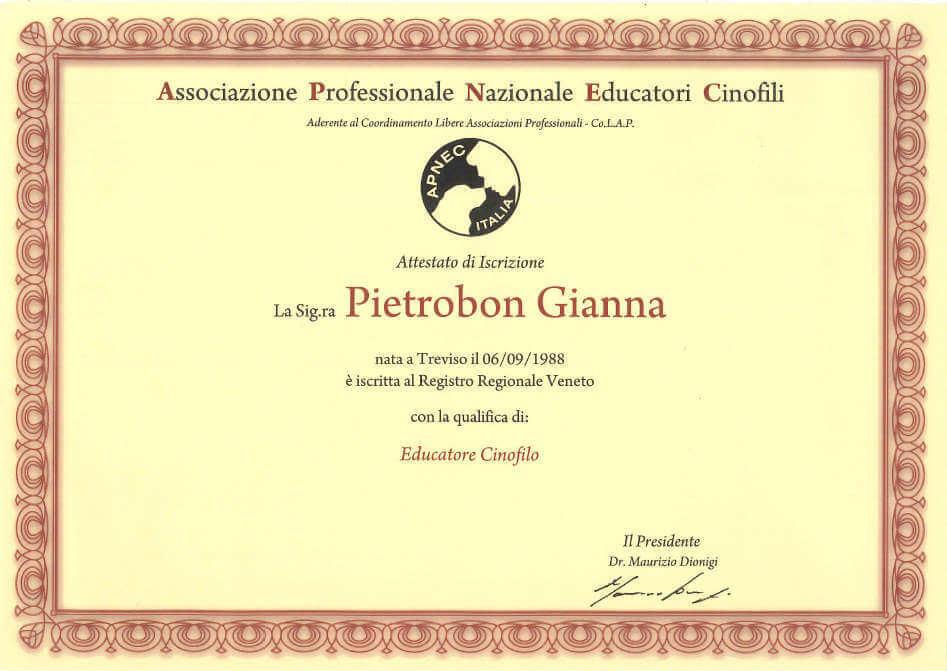 gianna-pietrobon-educatore-cinofilo-attestato-2