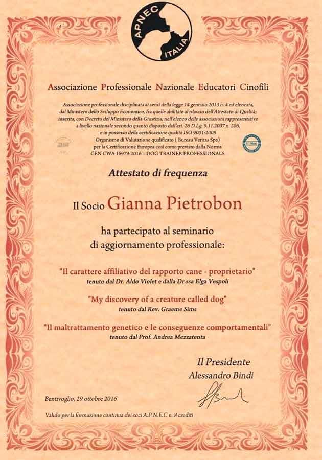 educatore-cinofilo-treviso-gianna-pietrobon-attestato-2016-4