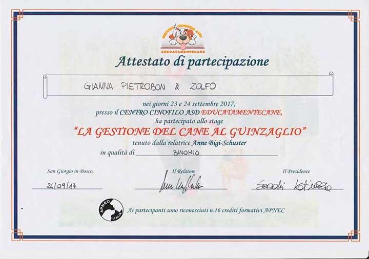 educatore-cinofilo-treviso-gianna-pietrobon-attestato-2017-4