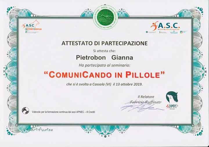 educatore-cinofilo-treviso-gianna-pietrobon-attestato-2019-2